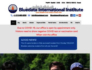 bluedataesl.com screenshot