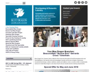 bluedragondrycleaners.co.uk screenshot