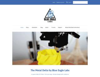 blueeaglelabs.com screenshot