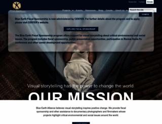 blueearth.org screenshot