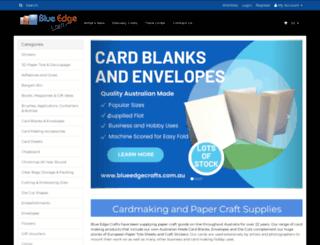 blueedgecrafts.com.au screenshot