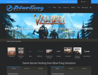 bluefangsolutions.com screenshot