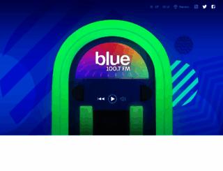 bluefm.com.ar screenshot