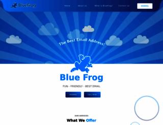 bluefrog.com screenshot