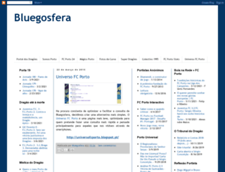 bluegosfera.blogspot.pt screenshot