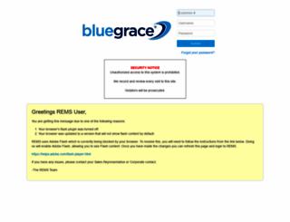 bluegrace.rocksolidinternet.com screenshot
