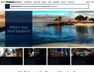 bluegreenvacations.com screenshot