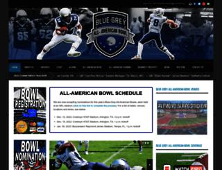 bluegreyfootball.com screenshot