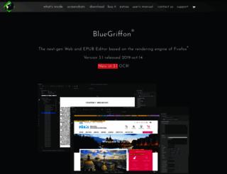 bluegriffon.org screenshot