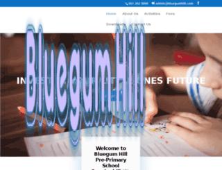 bluegumhill.com screenshot