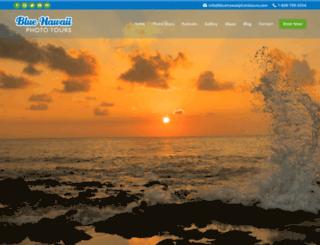 bluehawaiiphototours.com screenshot