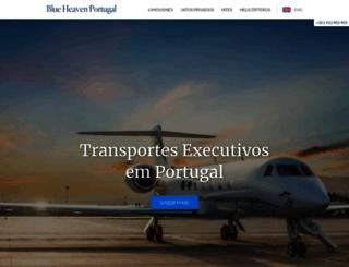 blueheavenportugal.com screenshot