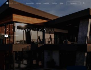 blueheron.com screenshot
