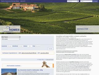 bluehomes.com screenshot
