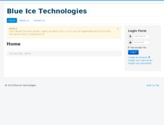 blueice.com.np screenshot