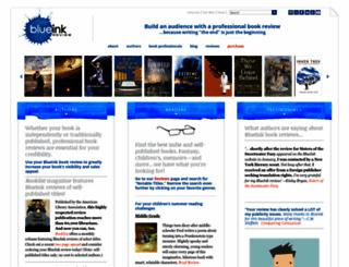 blueinkreview.com screenshot