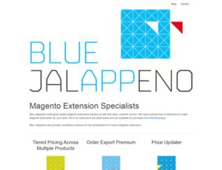 bluejalappeno.com screenshot