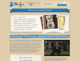bluejar.com screenshot