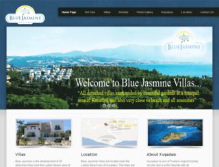 bluejasminevillas.com screenshot
