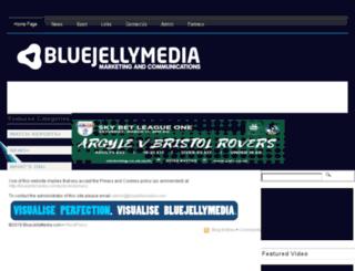 bluejellymedia.com screenshot