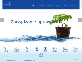 bluelab.com.pl screenshot