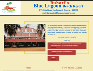 bluelagoonresorts.com screenshot