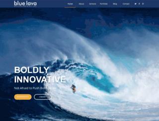 bluelavadesign.com screenshot