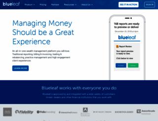blueleaf.com screenshot