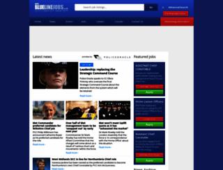 bluelinejobs.co.uk screenshot