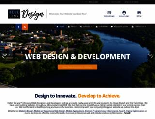 bluelinkdesign.com screenshot