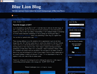 bluelionphotos.blogspot.com screenshot