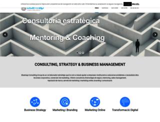 bluemapconsulting.com screenshot