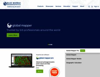 bluemarblegeo.com screenshot