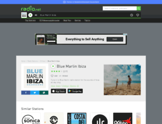 bluemarlin.radio.net screenshot
