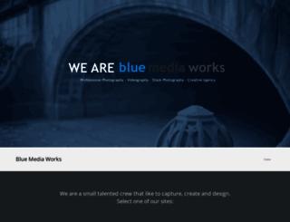 bluemediaworks.com screenshot