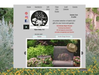 bluemoongardens.com screenshot