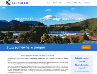 bluemoonhavelock.co.nz screenshot