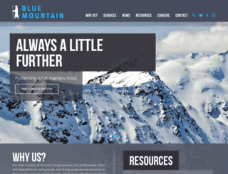 bluemountainlibya.com screenshot