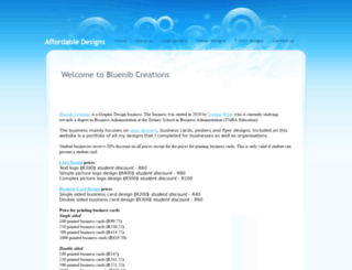 bluenib.yolasite.com screenshot