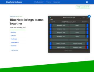 bluenotesoftware.com screenshot