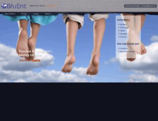 bluent.com screenshot