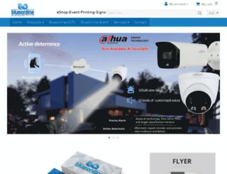 blueonline.com.au screenshot