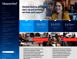 blueorchid.co.uk screenshot