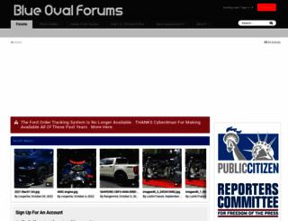blueovalforums.com screenshot