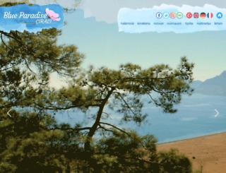 blueparadisecirali.com screenshot