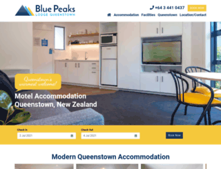 bluepeaks.co.nz screenshot