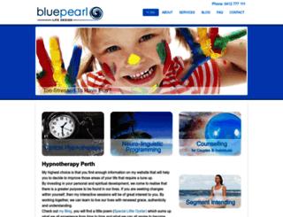 bluepearllife.com.au screenshot