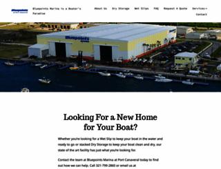 bluepointsmarina.com screenshot