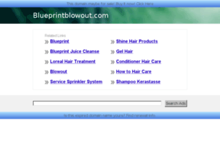 blueprintblowout.com screenshot