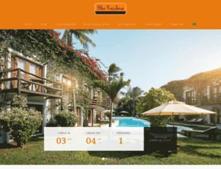 blueresidencehotel.com.br screenshot
